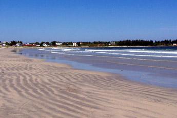 Nova Scotia Beaches Lockeport Beaches Lockeport Crescent Beach In Lockeport White Sand