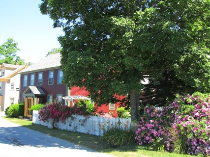 Dock Street in Shelburne, Nova Scotia