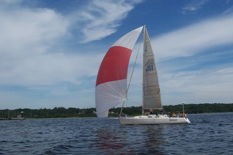 sailing in Shelburne Harbour, sailing in nova scotia, nova scotia sailing